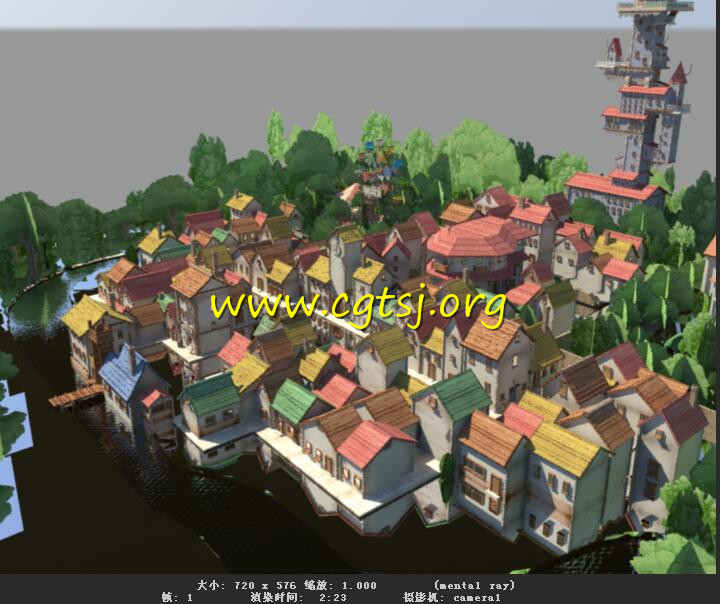 Maya模型ME23054的预览图1